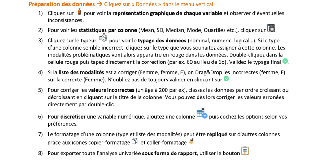 Quick Start guide du logiciel statistique R++ photo 2